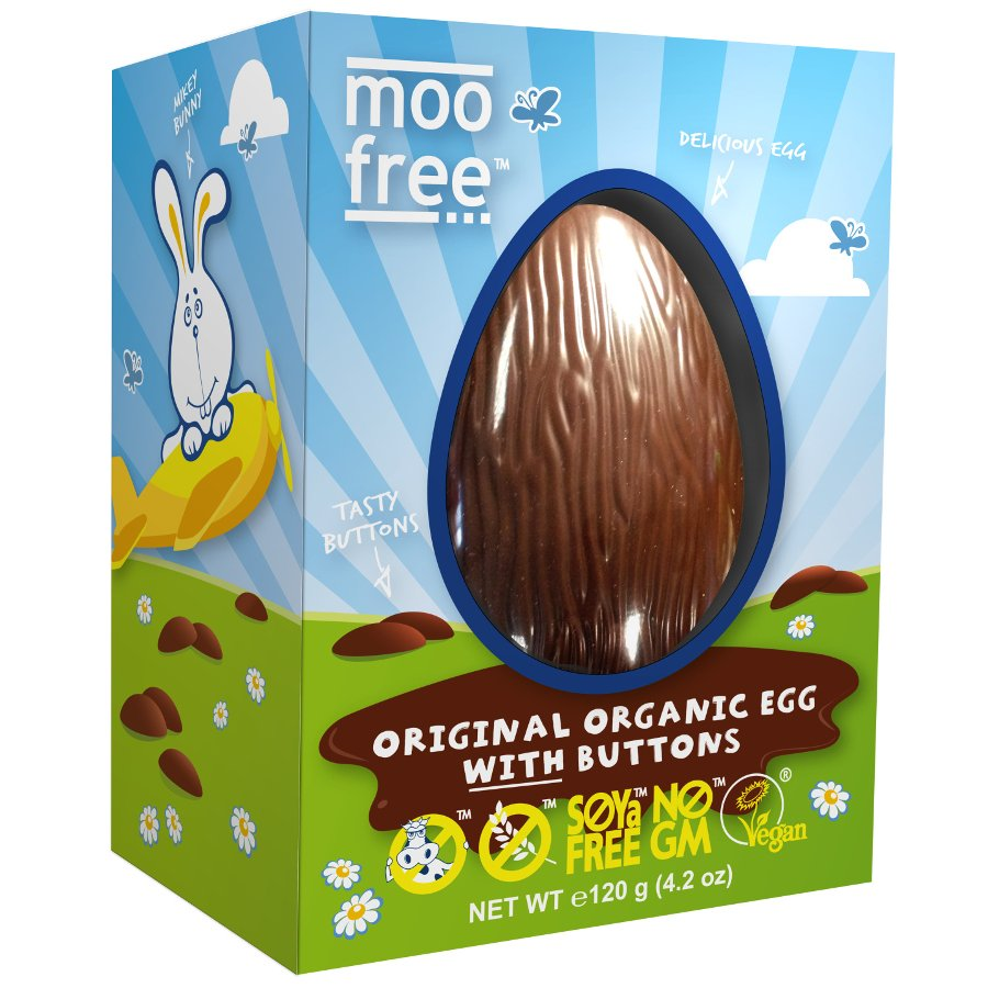 Gluten free gifts below 10 ethical superstore moo free organic dairy free easter egg with buttons 110g negle Gallery