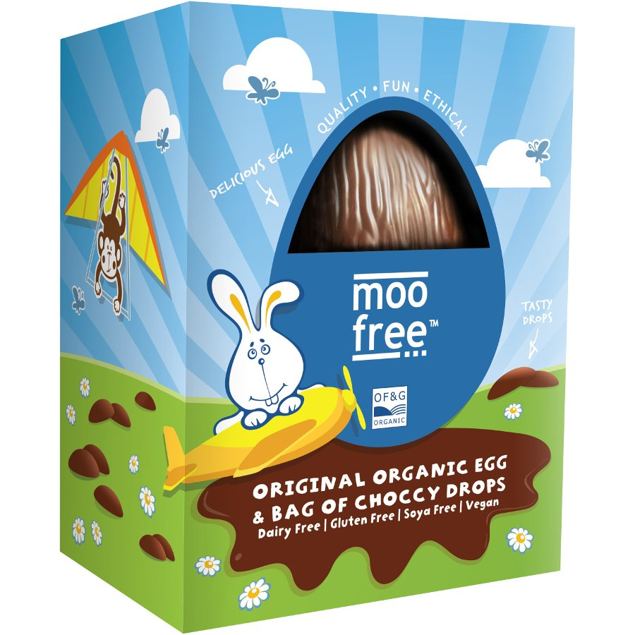 Moo Free Organic & Dairy Free Easter Egg with Buttons ...