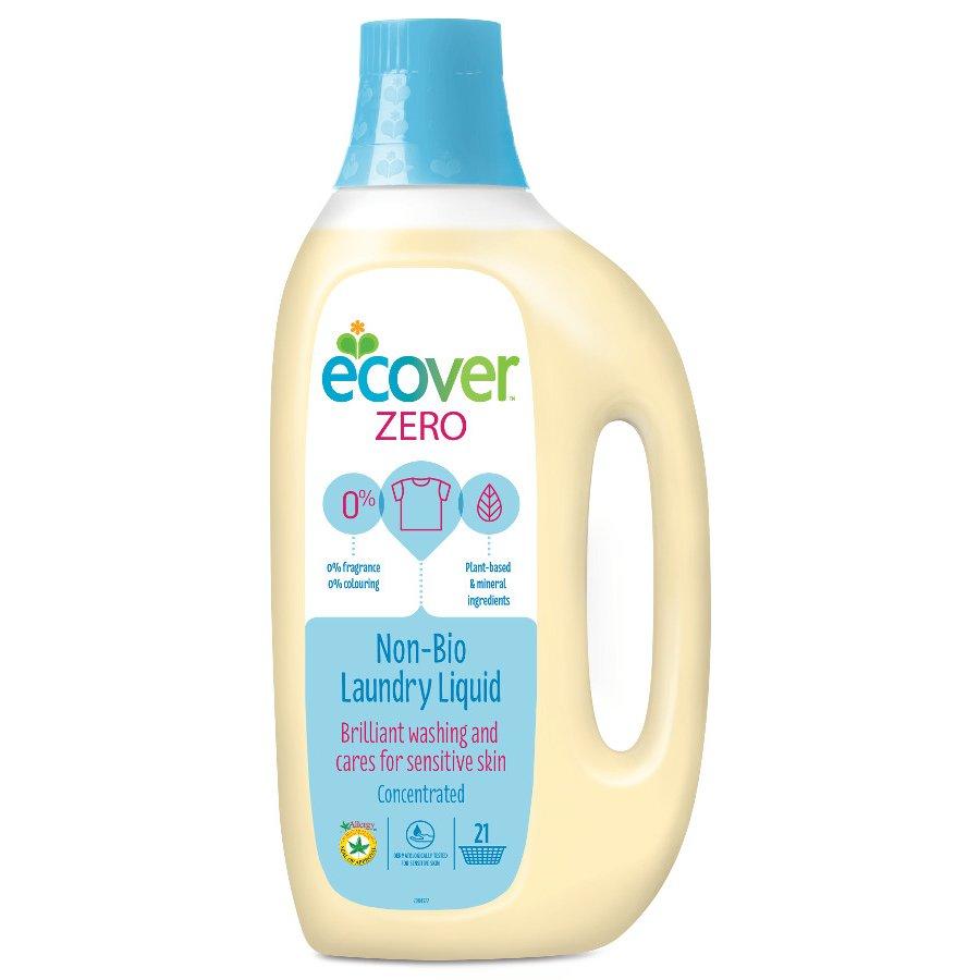Ecover Zero Non Bio Laundry Liquid 1 5l 21 Washes Ecover