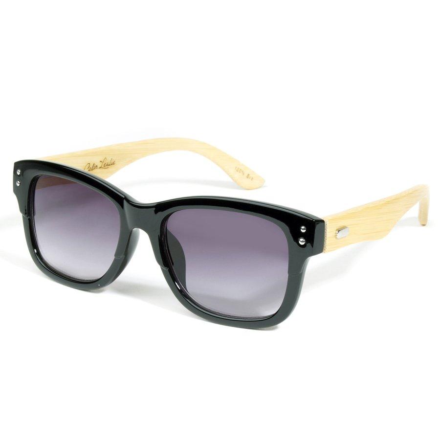 6cfb8d54f92c Retro Black Eco-Friendly Wooden Sunglasses - Colin Leslie Eyewear