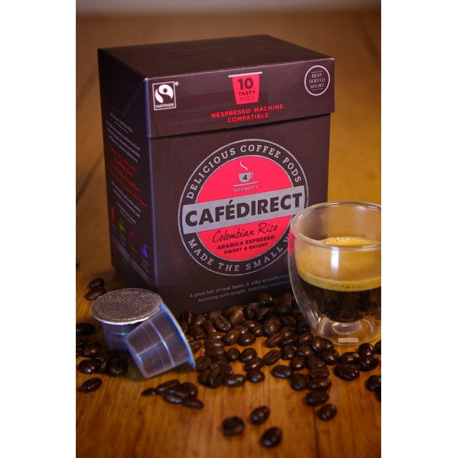 Cafédirect Colombian Rise Espresso Coffee Pods