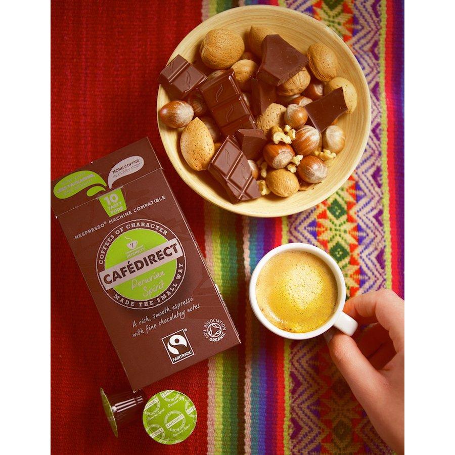 Cafédirect Peruvian Spirit Machu Picchu Espresso Coffee