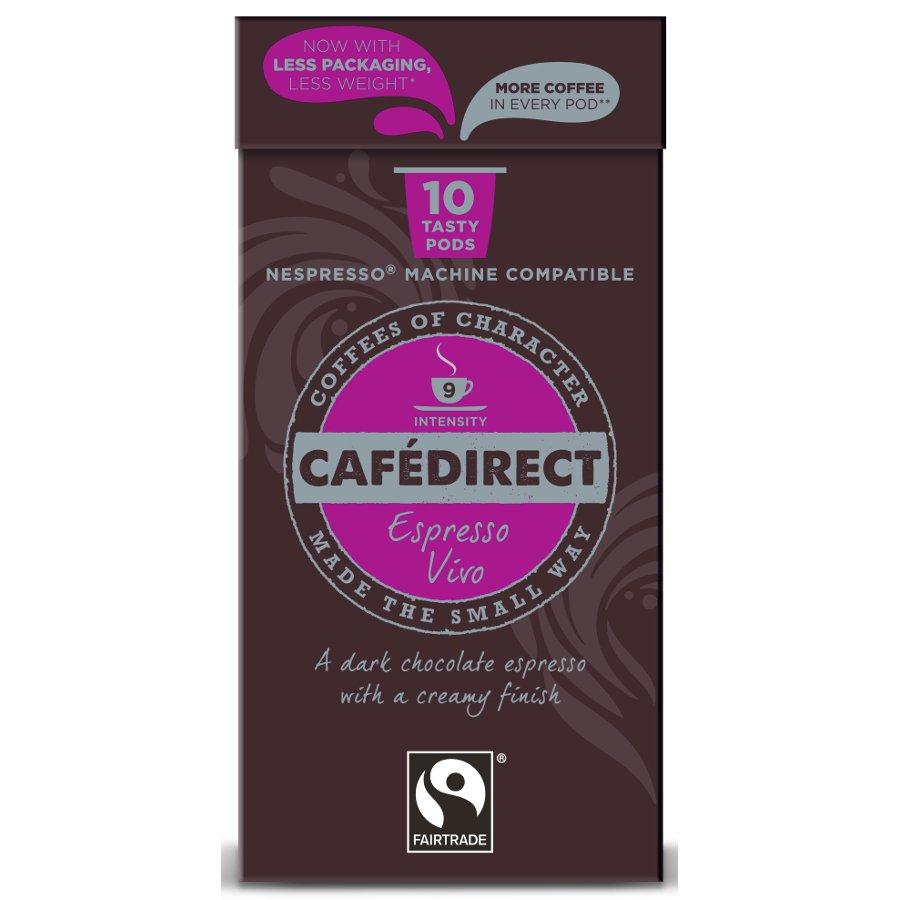 Cafédirect Espresso Vivo Coffee Pods