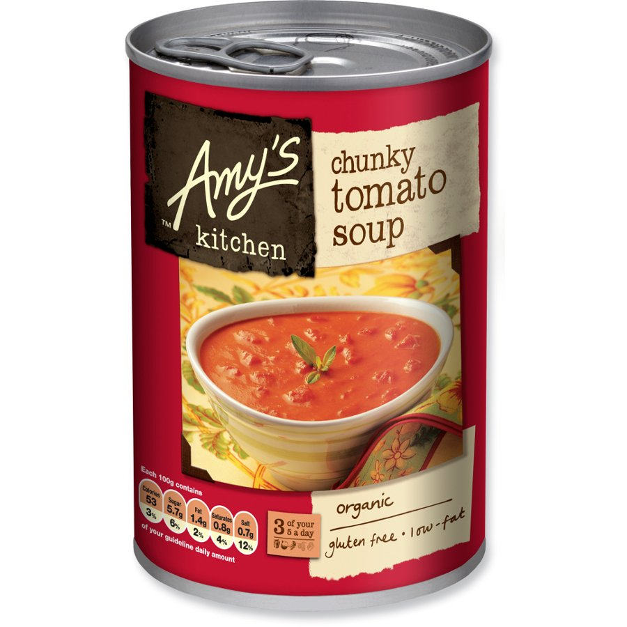 Admirable Pack Of 2 Amys Kitchen Chunky Tomato Soup 400G Interior Design Ideas Inamawefileorg