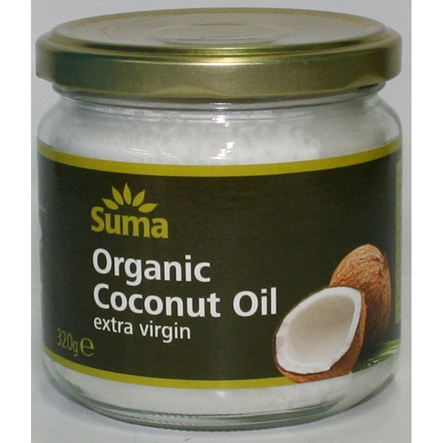 Suma Organic Extra Virgin Coconut Oil - 320G - Suma Wholefoods-3922