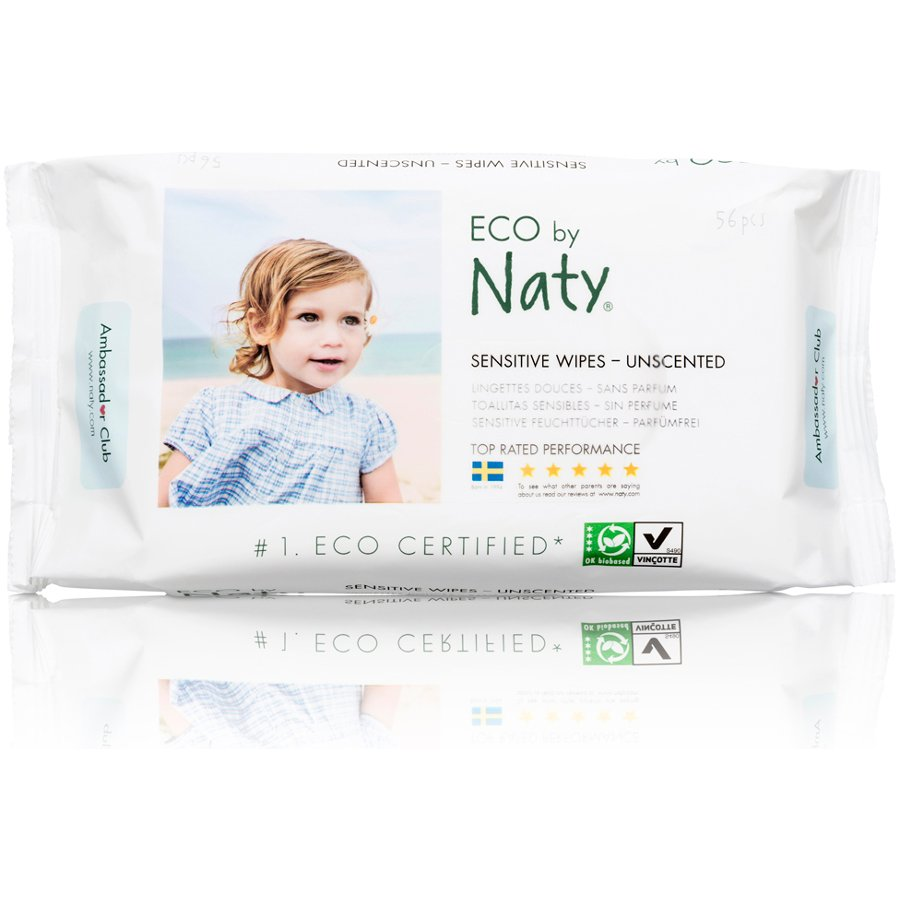 Naty Unscented Baby Wipes