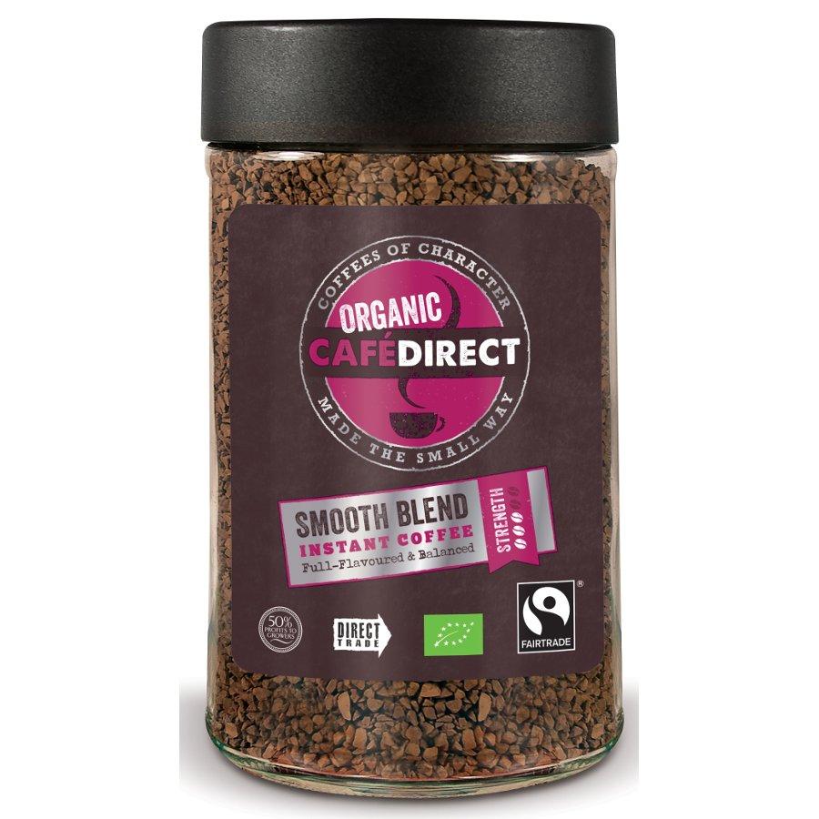 Fair Trade Coffee ~ Cafédirect fair trade organics smooth instant coffee