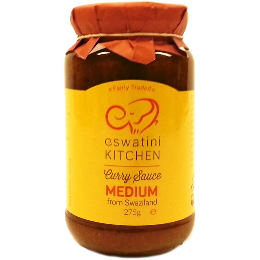 Eswatini Swazi Kitchen Medium Curry Sauce 275g