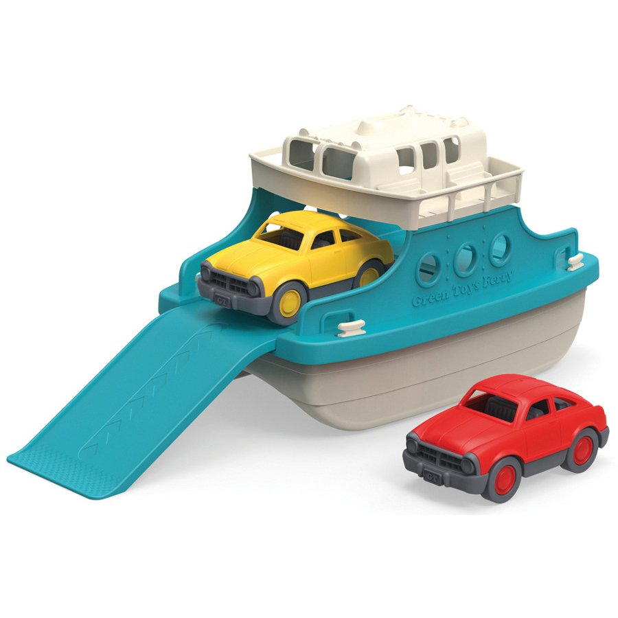 Green Toys Recycled Ferry Boat with Cars - Green Toys