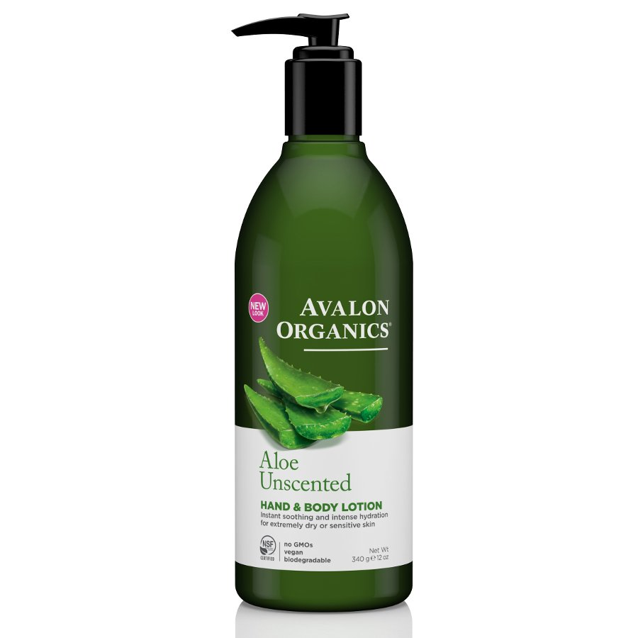 Avalon organics aloe unscented lotion