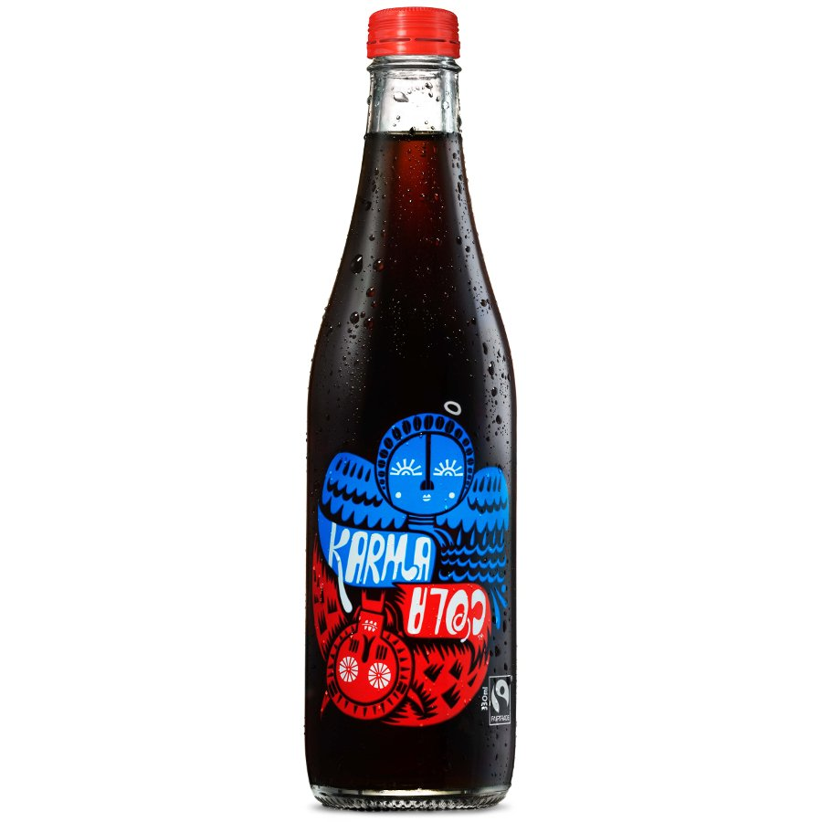 Karma Cola 330ml Karma Cola All Good Organics