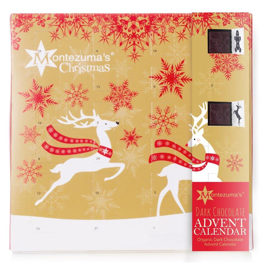 Advent Calendar 2016 Chocolate : Montezumas dark chocolate advent calendar