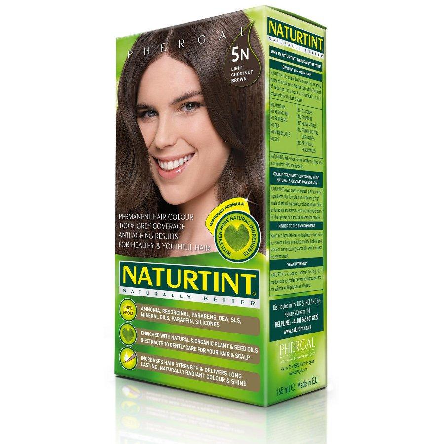 Naturtint 5n Light Chestnut Brown Permanent Hair Dye Naturtint