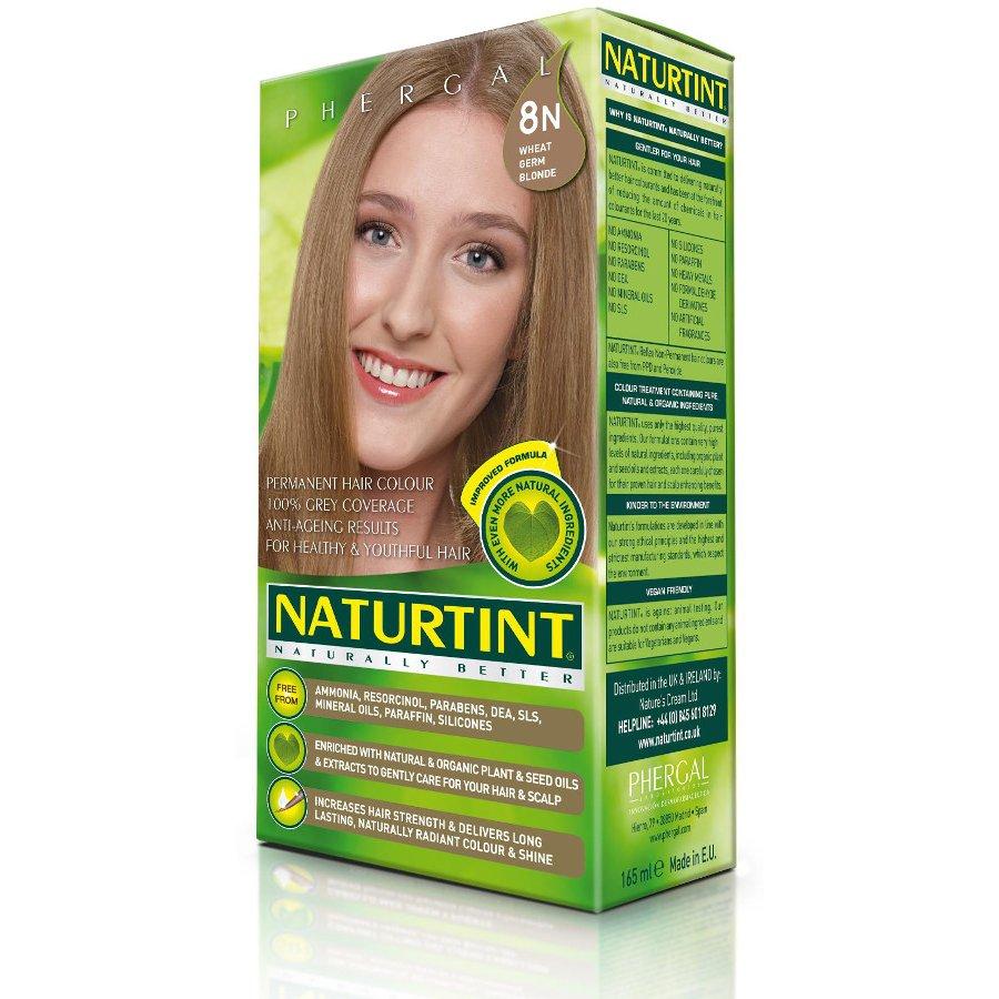 Naturtint 8N Wheatgerm Blonde Permanent Hair Dye - Naturtint