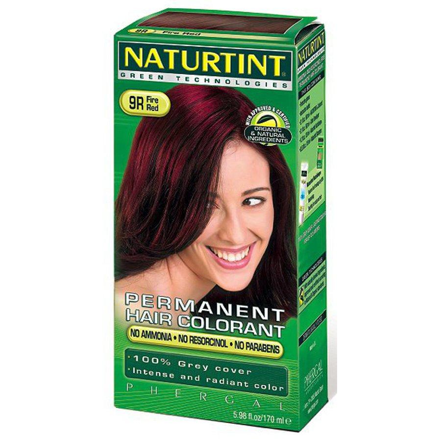 Naturtint 9r Fire Red Permanent Hair Dye Naturtint