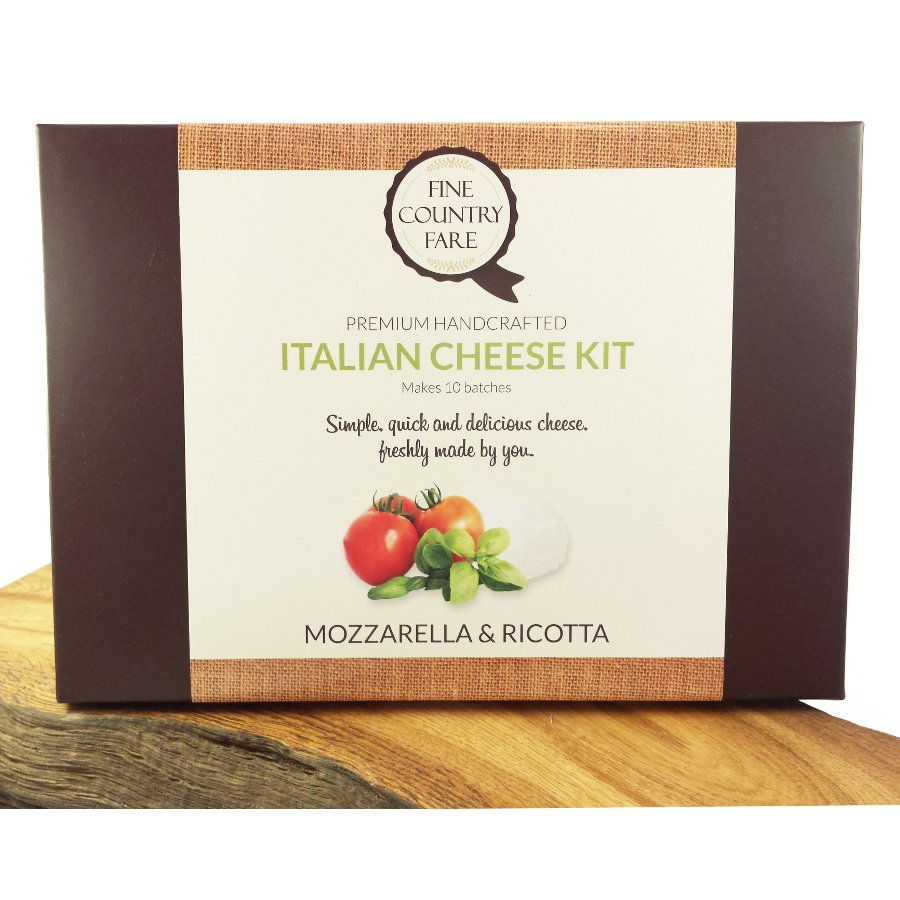 Fine country fare italian cheese making kit fine country for Italian kit
