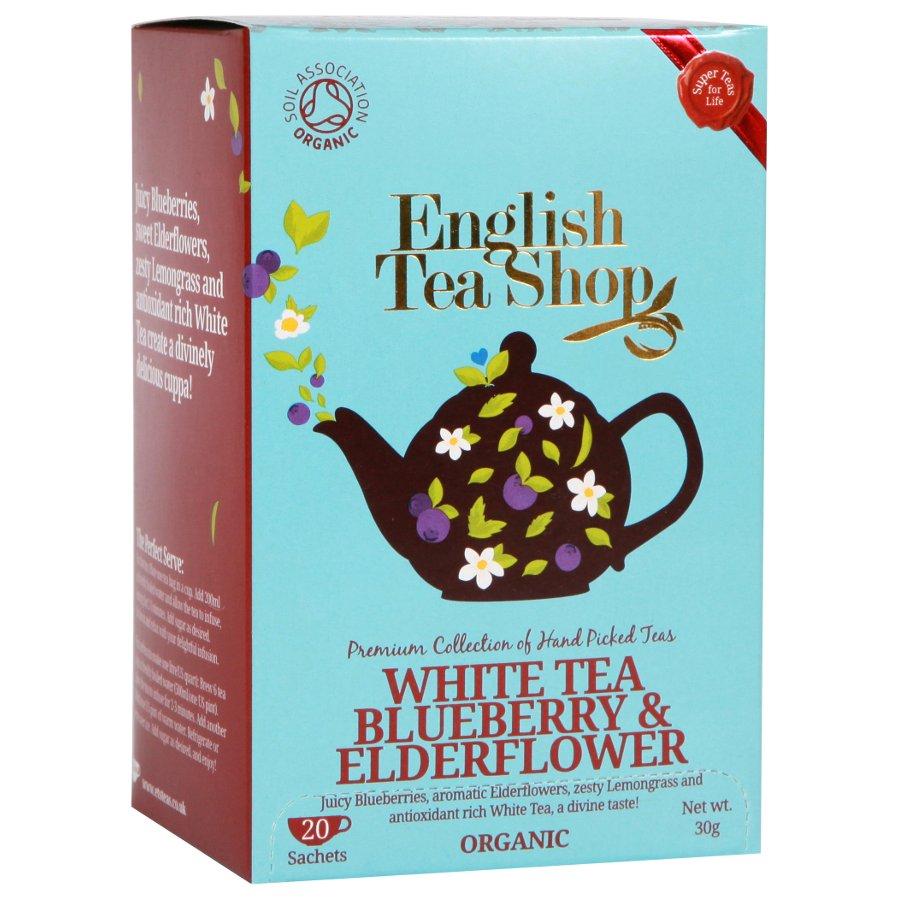 English Tea Supplies: English Tea Shop Organic Blueberry & Elderflower Super