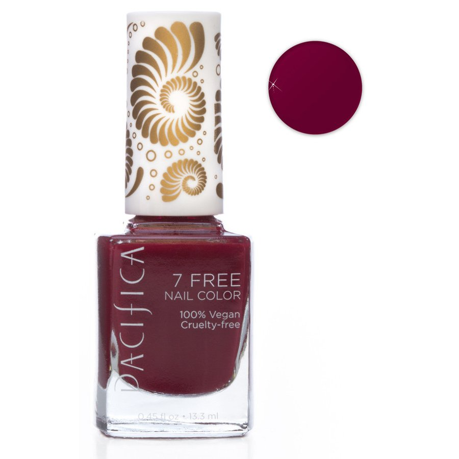 Pacifica 7 Free Vegan Nail Polish - Red Red Wine - 13.3ml - Pacifica
