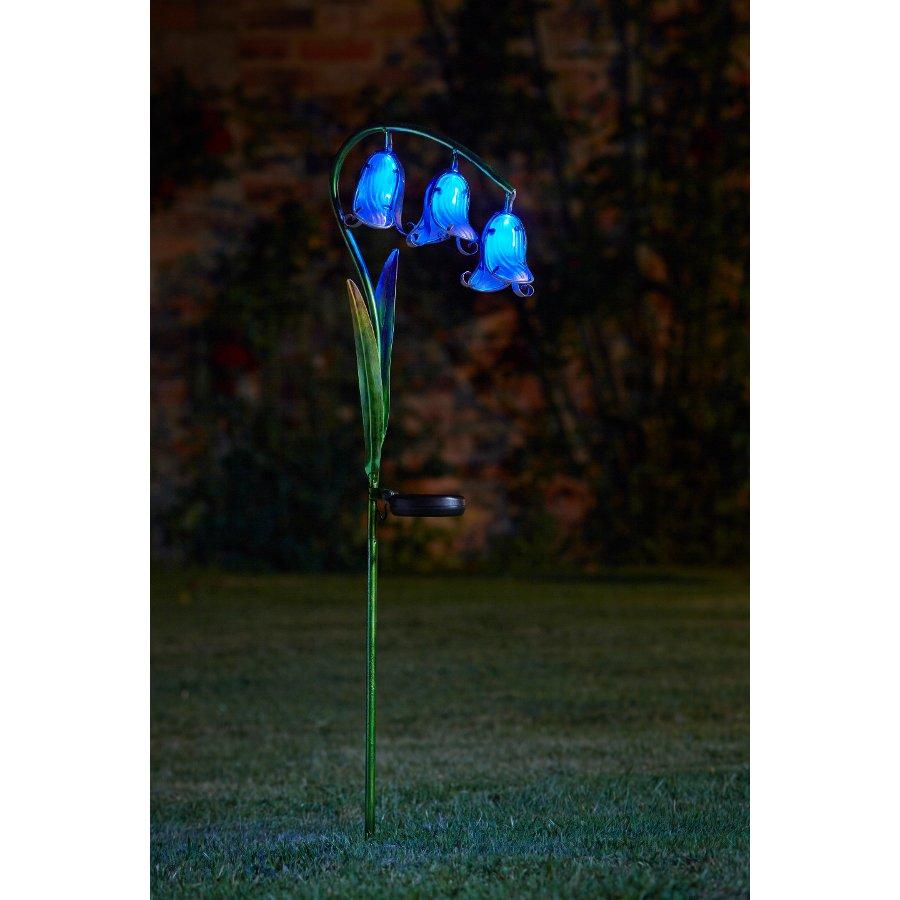 Solar Powered Bluebell Stake Light 2 Pack Smart Garden