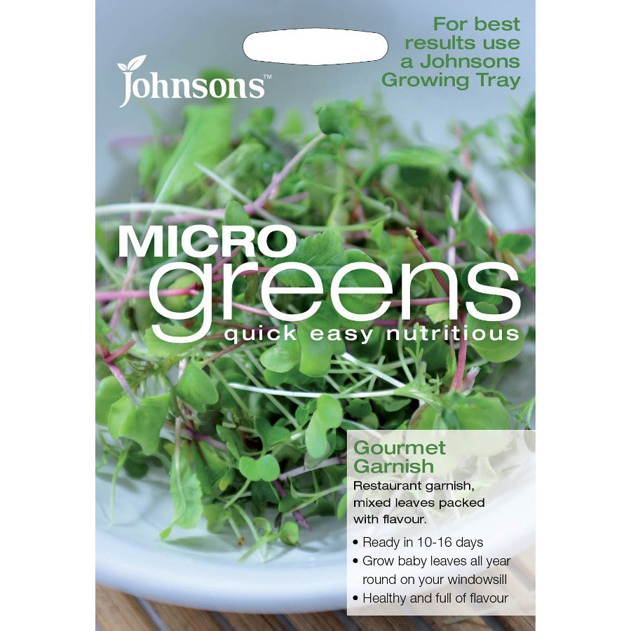 Johnson's Microgreens Seeds - Mixed Leaves