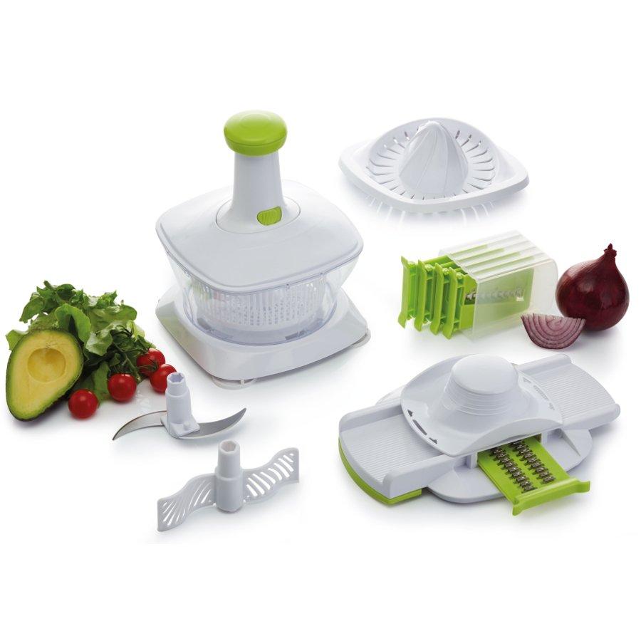 Kitchen Craft 5 in 1 Manual Food Processor - Kitchen Craft