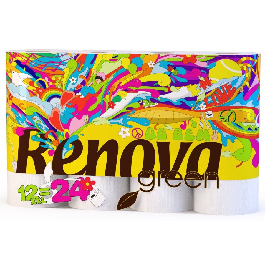 Renova Green 100 Recycled Toilet Paper