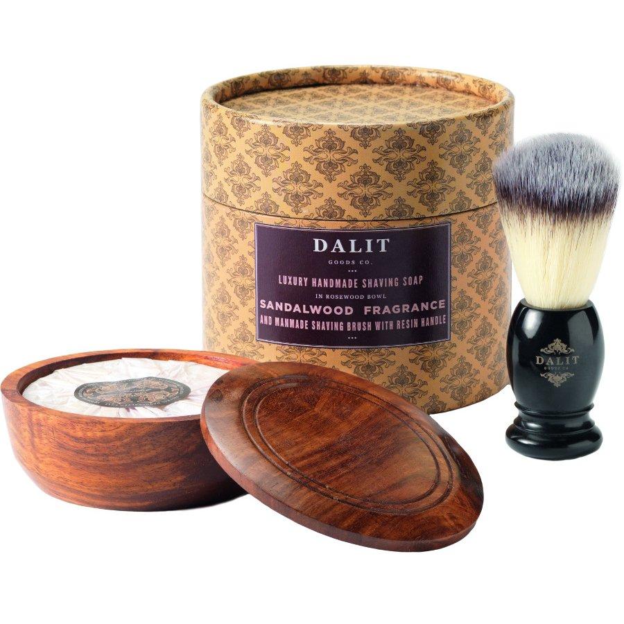 6957cc42953ea9 Dalit Mens Shaving Brush   Soap Gift Set