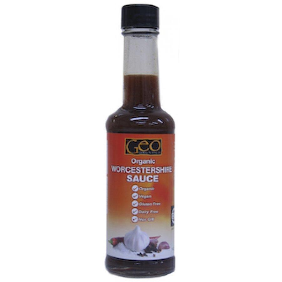 Geo-Organics Organic Worcestershire Sauce 142ML