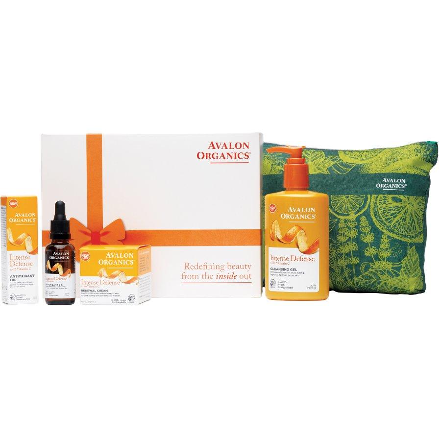 sc 1 st  Ethical Superstore & Avalon Organics Skin Care Gift Set - Intense Defense - Avalon Organics