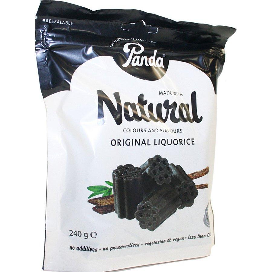 Panda Original Liquorice Cuts Bag 240g Panda