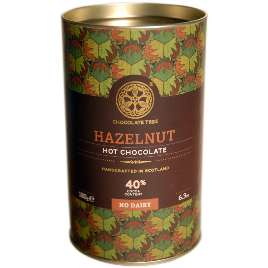 Chocolate Tree Hazelnut Dairy Free Hot Chocolate - 180g ...