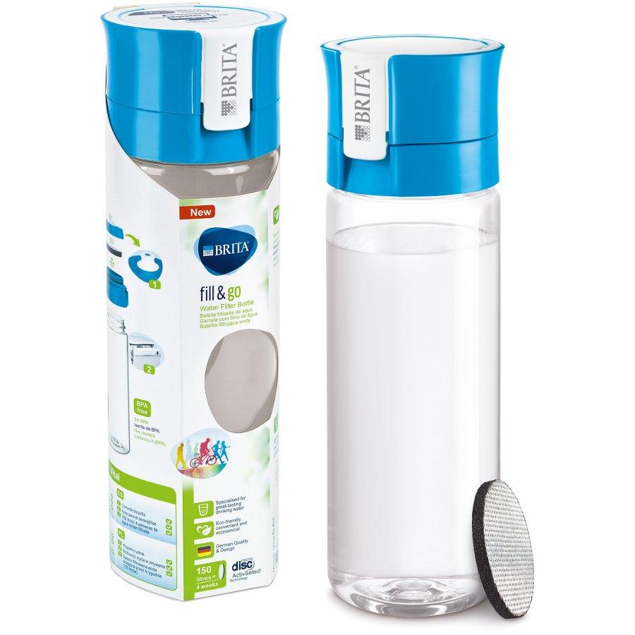 Brita Fill Amp Go Vital Water Filter Bottle 0 6l Brita
