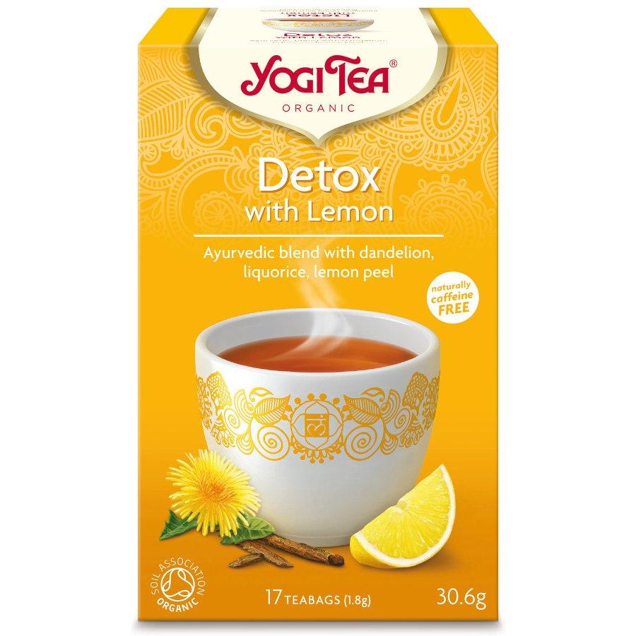 Yogi Ayurvedic Organic Detox Tea with Lemon - 17 bags - Yogi Tea