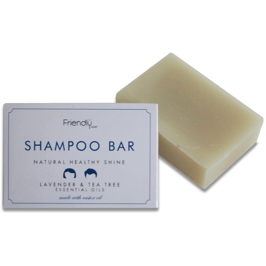 friendly soap natural shampoo bar lavender tea tree 95g friendly soap. Black Bedroom Furniture Sets. Home Design Ideas