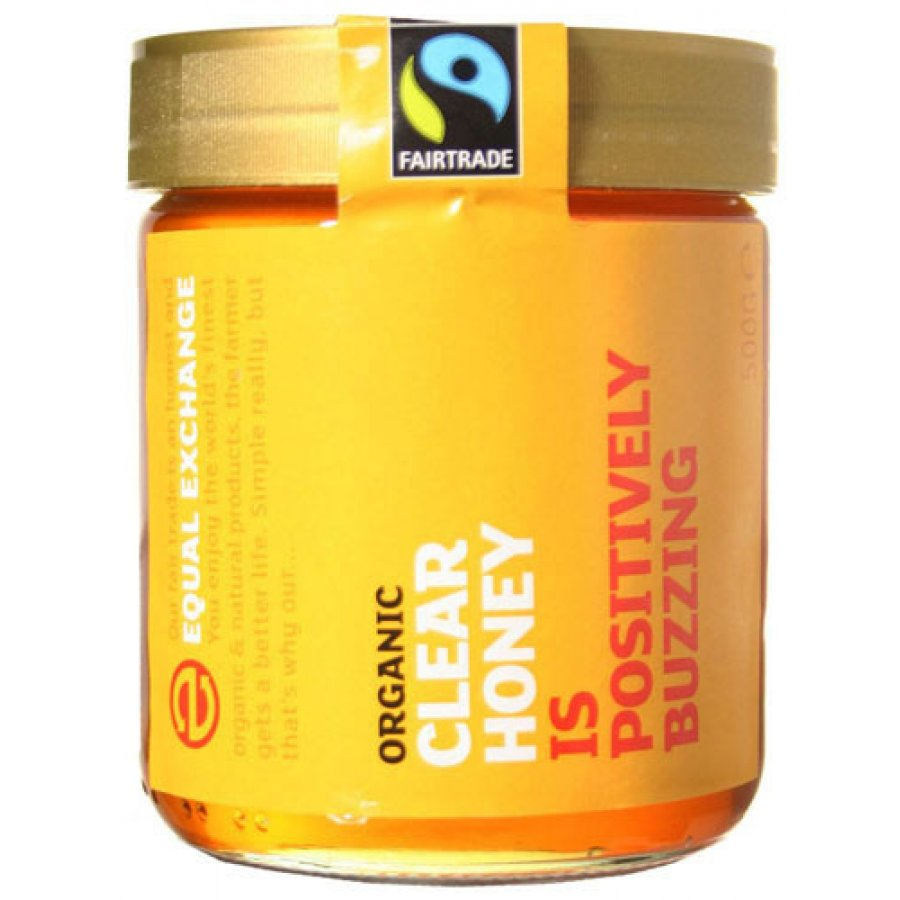 Equal Exchange Organic Clear Honey 500g Ethical Superstore