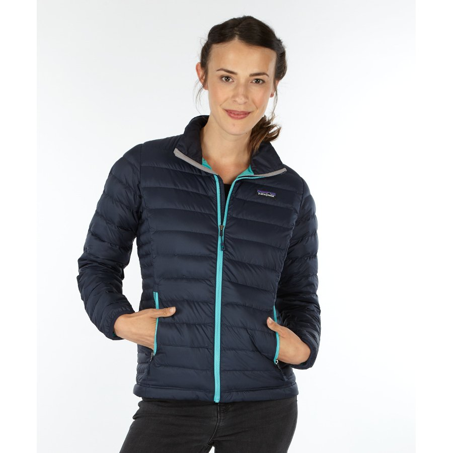 Navy blue jacket for women