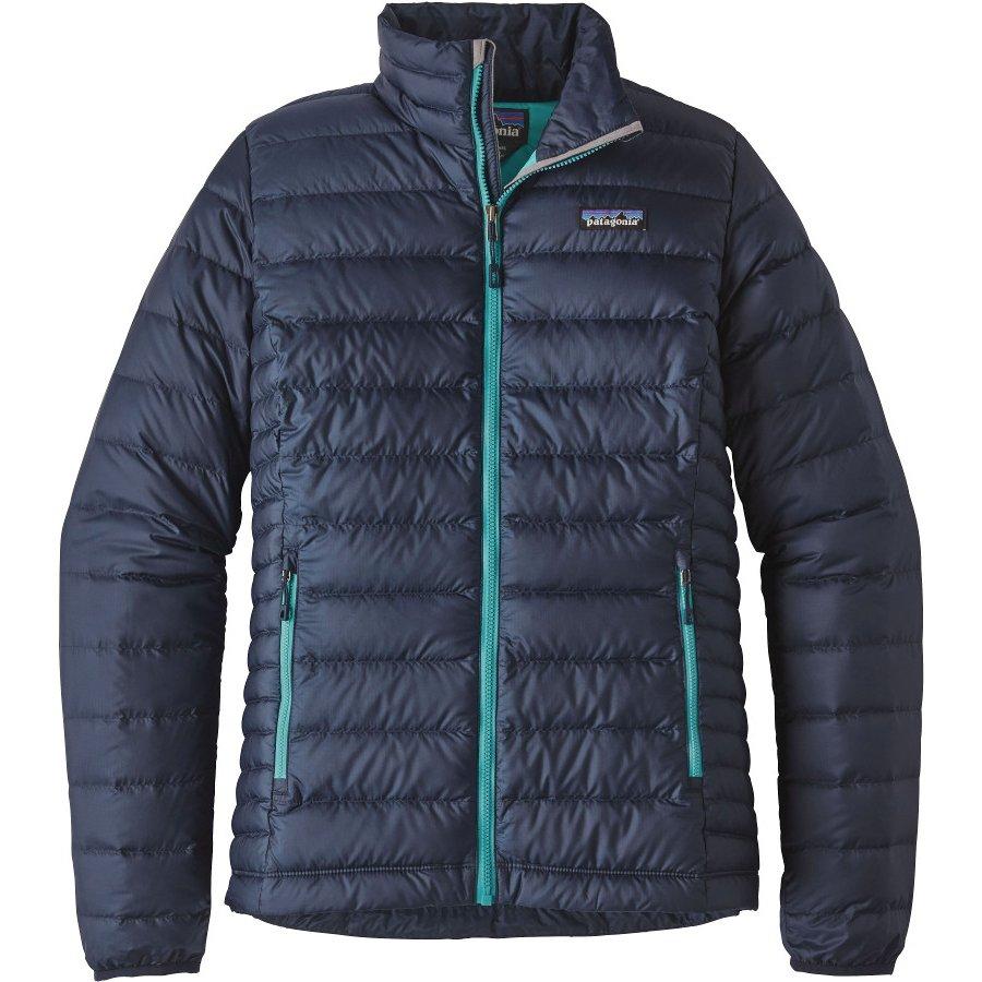 Patagonia Womens Down Sweater Jacket Navy Blue Patagonia