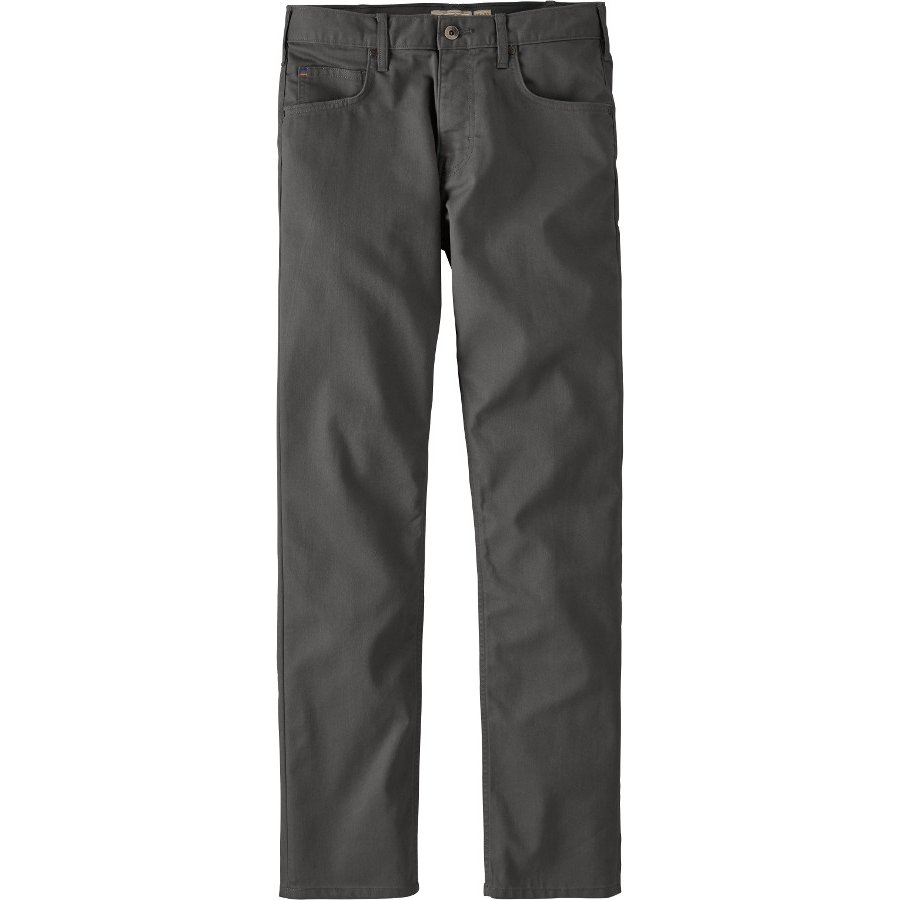 b7029a5571f1 Patagonia Mens Performance Regular Fit Twill Jeans - Forge Grey - Patagonia