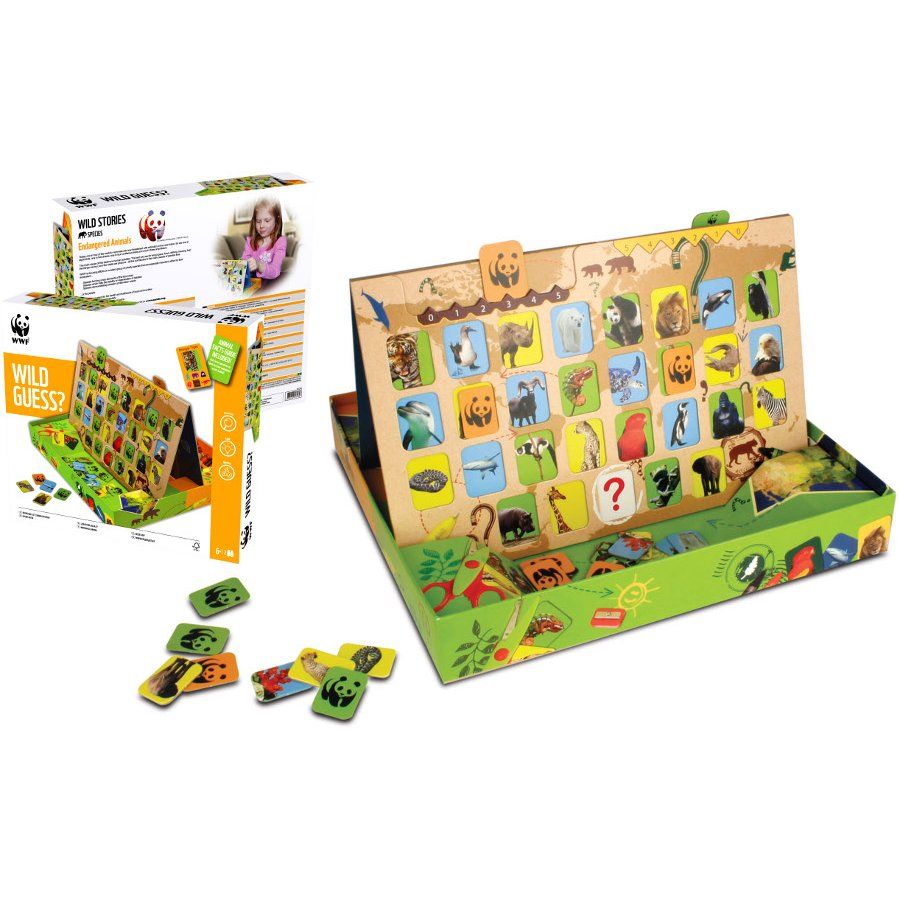 WWF Wild Guess? Game - WWF - Ethical Superstore