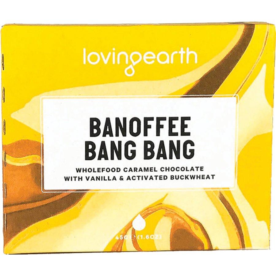 eb3cd4afd72272 Loving Earth Banoffee Bang Bang Chocolate - 45g - Loving Earth