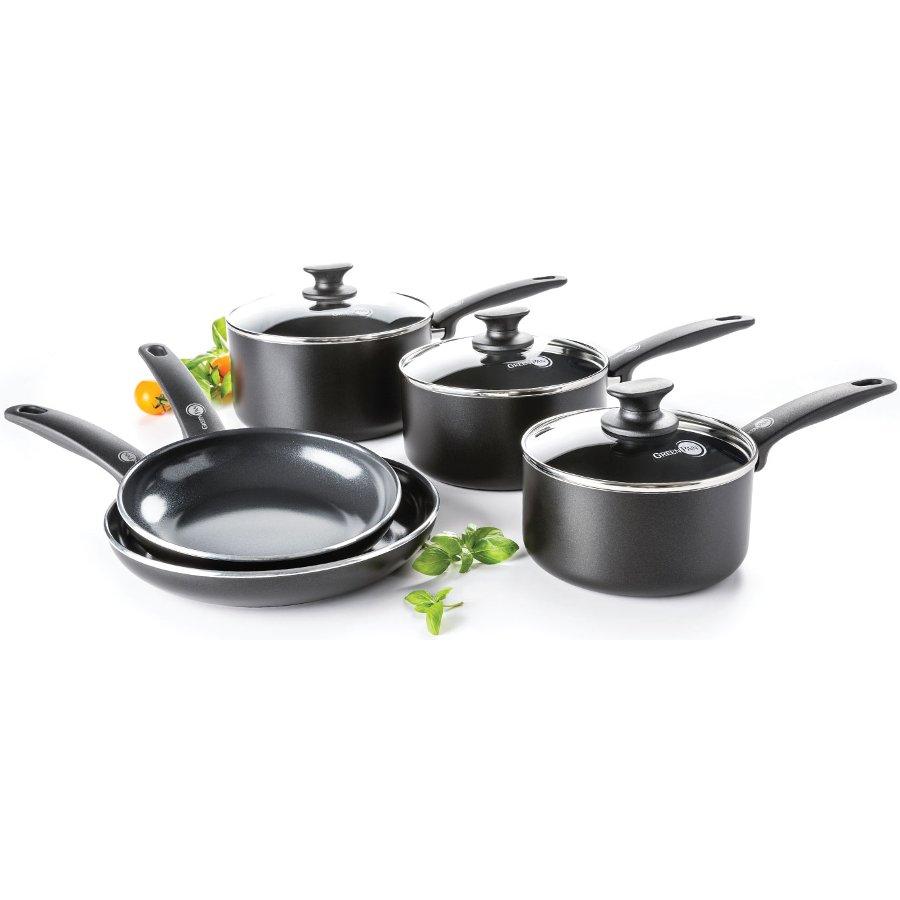 GreenPan Cambridge 5 Piece Cookware Set - GreenPan