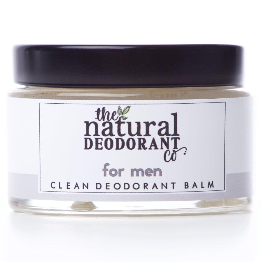 Natural Deodorant Co Clean Deodorant Balm For Men - 55g