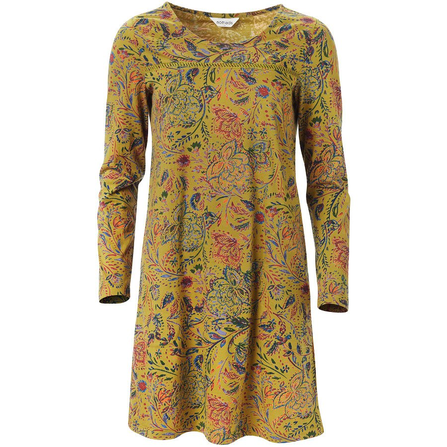bd760e29b58 Nomads Amara Tunic Dress - Ochre - Nomads