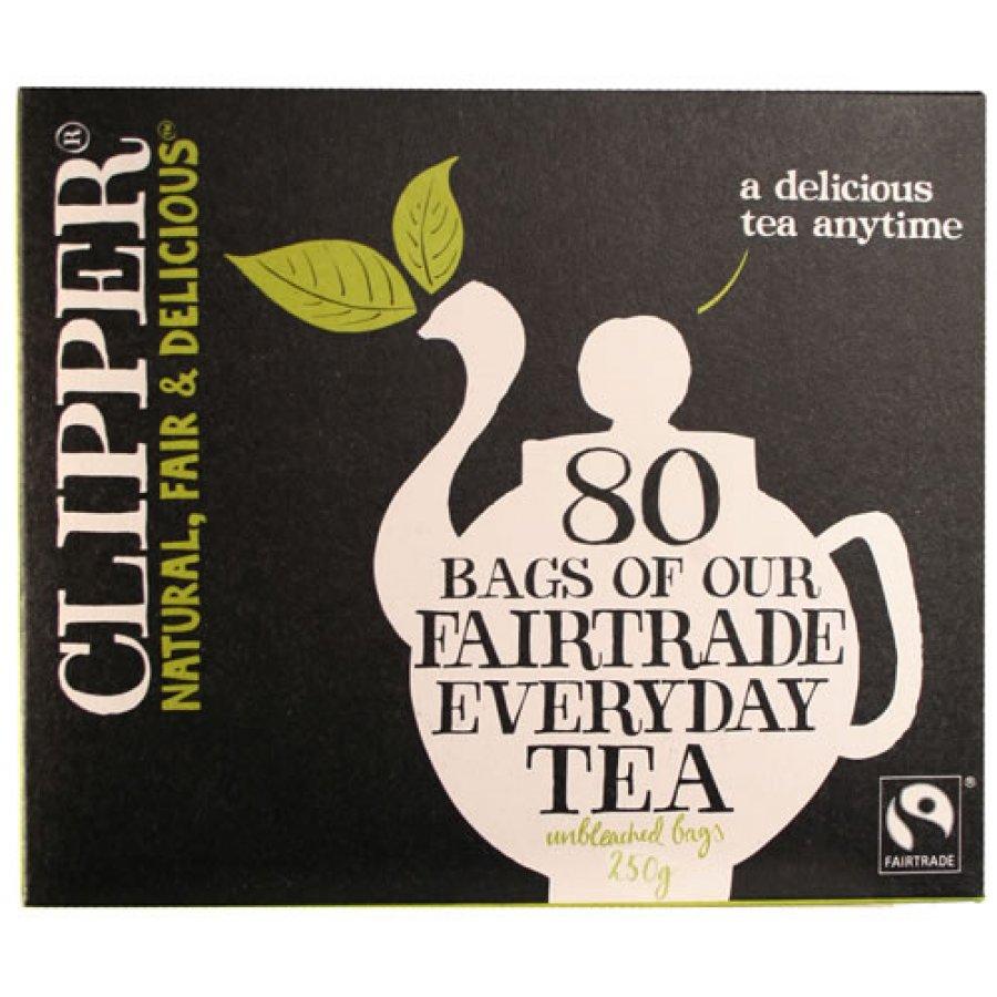 Clipper Fairtrade Tea 80 Bags