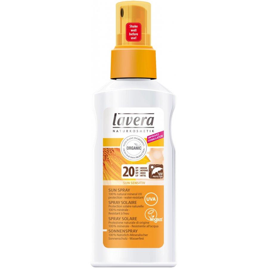 94007bb792e Lavera Organic Sun Spray SPF20 - 125ml - Lavera
