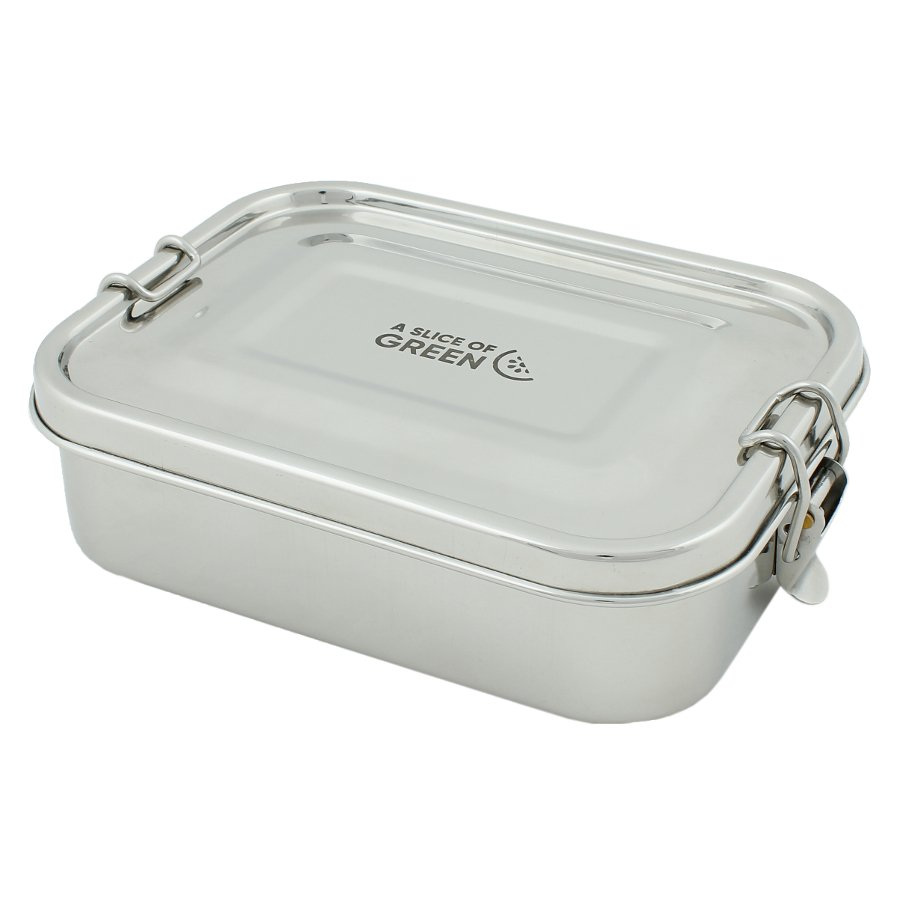 A Slice Of Green Adoni Leak Resistant Stainless Steel Lunch Box A Slice Of Green