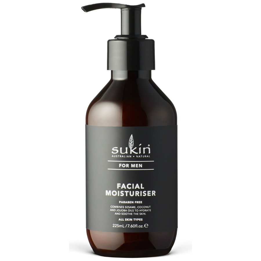 Sukin For Men Facial Moisturiser   225ml by Ethical Superstore