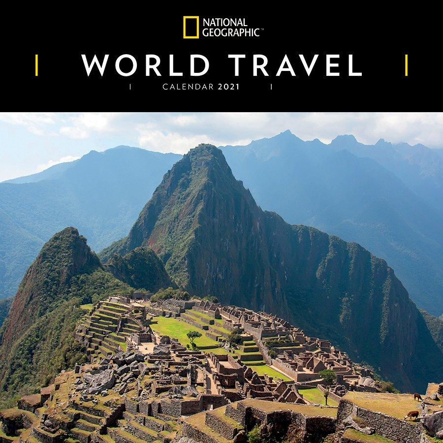 National Geographic 'World Travel' Wall Calendar 2021 ...
