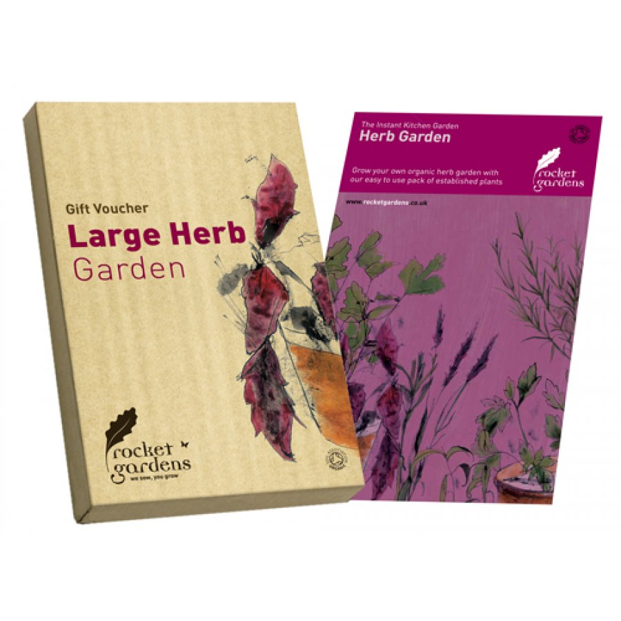 Product Instant Gardens : Instant herb garden rocket gardens ethical superstore