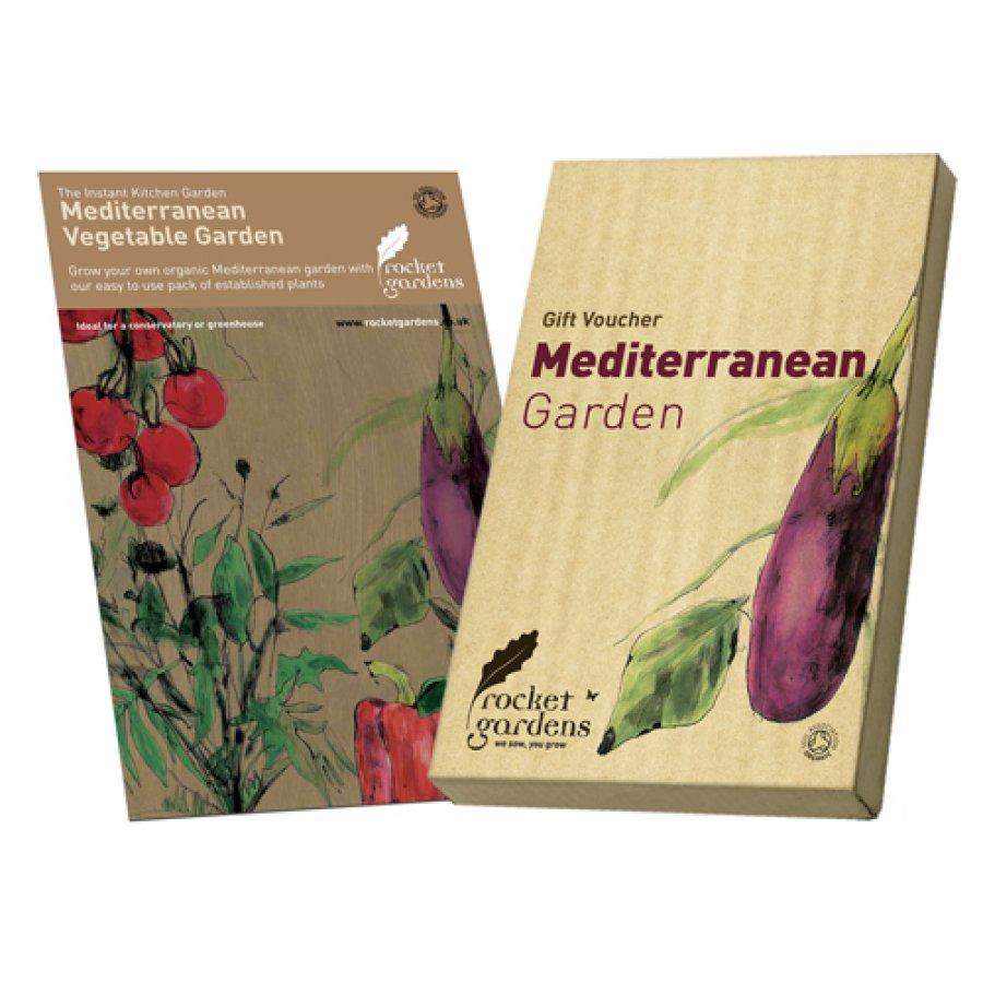 Instant Organic Garden : Instant mediterranean vegetable garden rocket gardens